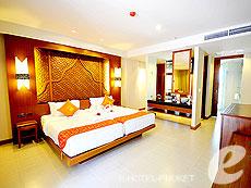 プーケット その他・離島のホテル : ラワイ パーム ビーチ リゾート(1)のお部屋「スーペリア プールビュー」