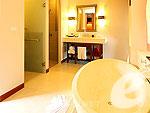 プーケット その他・離島のホテル : ラワイ パーム ビーチ リゾート(Rawai Palm Beach Resort)のデラックス プールビュールームの設備 Bath Room