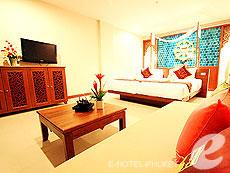 プーケット その他・離島のホテル : ラワイ パーム ビーチ リゾート(1)のお部屋「デラックス プール アクセス」