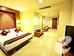プーケット その他・離島のホテル : ラワイ パーム ビーチ リゾート(Rawai Palm Beach Resort)のデラックス ファミリー プールビュールームの設備 Room View