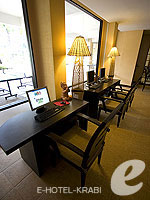 Internet Corner : Rawi Warin Resort & Spa, Connecting Rooms, Phuket