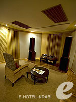 Audio Room : Rawi Warin Resort & Spa, Fitness Room, Phuket