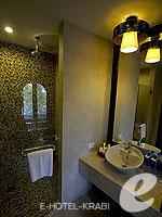 クラビ ランタ島のホテル : ラウィ ワリン リゾート & スパ(Rawi Warin Resort & Spa)のポンドルームの設備 Bath Room