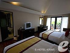 クラビ ランタ島のホテル : ラウィ ワリン リゾート & スパ(1)のお部屋「ポンド」