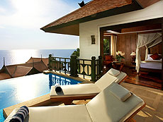 クラビ ランタ島のホテル : ラウィ ワリン リゾート & スパ(1)のお部屋「バーンラウィスイート」