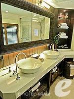 クラビ キャンペーンのホテル : ラヤヴァディ(Rayavadee)のデラックス パビリオンルームの設備 Bathroom