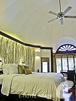 クラビ キャンペーンのホテル : ラヤヴァディ(Rayavadee)のテラス パビリオンルームの設備 Bedroom