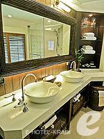 クラビ キャンペーンのホテル : ラヤヴァディ(Rayavadee)のテラス パビリオンルームの設備 Bathroom
