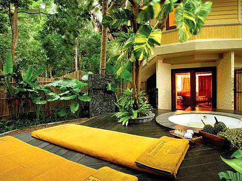 クラビ キャンペーンのホテル : ラヤヴァディ(1)のお部屋「スパ パビリオン」