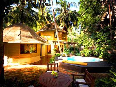 クラビ キャンペーンのホテル : ラヤヴァディ(1)のお部屋「ファミリー パビリオン ウィズ ハイドロプール」