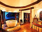 クラビ キャンペーンのホテル : ラヤヴァディ(Rayavadee)のザ ラヤヴァディ ヴィラルームの設備 Bathroom