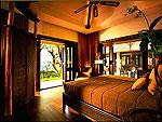 クラビ キャンペーンのホテル : ラヤヴァディ(Rayavadee)のザ プラナン ヴィラルームの設備 Bedroom