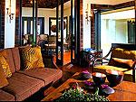 クラビ キャンペーンのホテル : ラヤヴァディ(Rayavadee)のザ プラナン ヴィラルームの設備 Living Room
