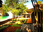 クラビ キャンペーンのホテル : ラヤヴァディ(Rayavadee)のザ プラナン ヴィラルームの設備 Private Garden