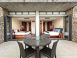 プーケット その他・離島のホテル : ロム トライ(Rom Trai)の4ベッドルームルームの設備 Bedroom