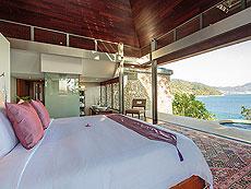 プーケット その他・離島のホテル : ロム トライ(1)のお部屋「4ベッドルーム」