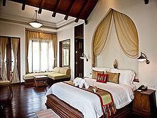サムイ島 チョンモーンビーチのホテル : ロイヤル ムアン サムイ ヴィラ(1)のお部屋「グランド デラックス スイート ガーデンビュー」