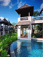 サムイ島 チョンモーンビーチのホテル : ロイヤル ムアン サムイ ヴィラ(Royal Muang Samui Villas)のプール スイートルームの設備 Private Pool