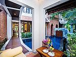 サムイ島 チョンモーンビーチのホテル : ロイヤル ムアン サムイ ヴィラ(Royal Muang Samui Villas)のプール スイートルームの設備 Terrace