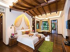 サムイ島 チョンモーンビーチのホテル : ロイヤル ムアン サムイ ヴィラ(1)のお部屋「プール スイート」