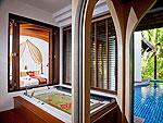 サムイ島 チョンモーンビーチのホテル : ロイヤル ムアン サムイ ヴィラ(Royal Muang Samui Villas)のプール ヴィラルームの設備 Private Pool