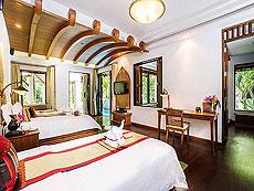 サムイ島 チョンモーンビーチのホテル : ロイヤル ムアン サムイ ヴィラ(1)のお部屋「プール ヴィラ」