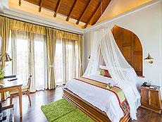 サムイ島 チョンモーンビーチのホテル : ロイヤル ムアン サムイ ヴィラ(1)のお部屋「ファミリー プール ヴィラ 2ベッドルーム」