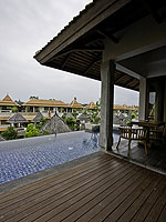 サムイ島 チョンモーンビーチのホテル : ロイヤル ムアン サムイ ヴィラ(Royal Muang Samui Villas)のプール ヴィラ オーシャンビュールームの設備 Private Pool
