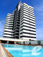 Swimming Pool : Royal Phuket City Hotel, Phuket Town, Phuket