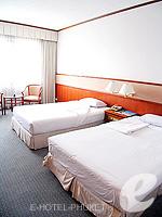 プーケット プーケットタウンのホテル : ロイヤル プーケット シティ ホテル(Royal Phuket City Hotel)のSuperiorルームの設備 Bedroom