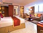 バンコク スクンビットのホテル : ロイヤル プレジデント(Royal President)のデラックス スタジオルームの設備 Room View
