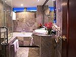 バンコク スクンビットのホテル : ロイヤル プレジデント(Royal President)のジュニア スイート 1ベッドルームルームの設備 Bath Room