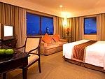 バンコク スクンビットのホテル : ロイヤル プレジデント(Royal President)のデラックスファミリースイート(2ベッドルームルームの設備 Room View