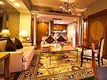 バンコク スクンビットのホテル : ロイヤル プレジデント(Royal President)の2ベッドルーム ペントハウスルームの設備 Room View