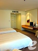 バンコク 王宮・カオサン周辺のホテル : ロイヤル プリンセス ラーン ルアン バンコク(Royal Princess Larn Luang Bangkok)のスーペリアルームの設備 Bedroom