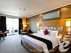バンコク 王宮・カオサン周辺のホテル : ロイヤル プリンセス ラーン ルアン バンコク(Royal Princess Larn Luang Bangkok)のお部屋「デラックス」