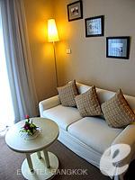 バンコク 王宮・カオサン周辺のホテル : ロイヤル プリンセス ラーン ルアン バンコク(Royal Princess Larn Luang Bangkok)のプリンセス スイートルームの設備 Bedroom