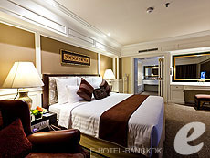 バンコク 王宮・カオサン周辺のホテル : ロイヤル プリンセス ラーン ルアン バンコク(Royal Princess Larn Luang Bangkok)のお部屋「プリンセス スイート」