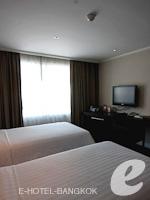 バンコク スクンビットのホテル : S15 スクンビット ホテル(S15 Sukhumvit Hotel)のデラックスルーム(シングル)ルームの設備 Bedroom