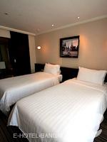 バンコク スクンビットのホテル : S15 スクンビット ホテル(S15 Sukhumvit Hotel)のデラックス(ダブル/ツイン)ルームの設備 Bedroom
