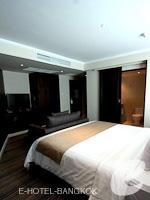 バンコク スクンビットのホテル : S15 スクンビット ホテル(S15 Sukhumvit Hotel)のジュニア スイート(ダブル)ルームの設備 Bedroom