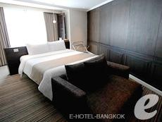 バンコク スクンビットのホテル : S15 スクンビット ホテル(S15 Sukhumvit Hotel)のお部屋「ジュニア スイート(ダブル)」
