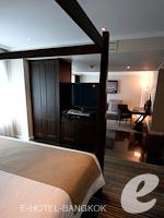 バンコク スクンビットのホテル : S15 スクンビット ホテル(S15 Sukhumvit Hotel)のビジネススイート(シングル)ルームの設備 Bedroom