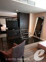バンコク スクンビットのホテル : S15 スクンビット ホテル(S15 Sukhumvit Hotel)のビジネス スイート(ダブル)ルームの設備 Bedroom