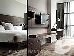 バンコク スクンビットのホテル : S31 スクンビット ホテル(S31 Sukhumvit Hotel)のデラックスルームの設備 Room View