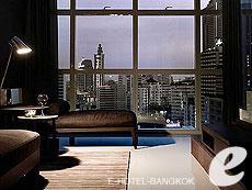 バンコク スクンビットのホテル : S31 スクンビット ホテル(S31 Sukhumvit Hotel)のデュプレックスコーナースイートルームの設備 Living Room