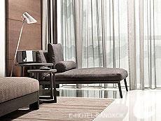バンコク スクンビットのホテル : S31 スクンビット ホテル(S31 Sukhumvit Hotel)のデュプレックスコーナースイートルームの設備 Bedroom