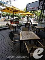 バンコク BTSアソーク駅のホテル : サチャズ ホテル ウノ 「Restaurant」