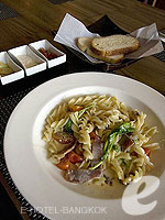 Food at Restaurant : Sacha's Hotel Uno, Sukhumvit, Phuket