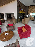 バンコク BTSアソーク駅のホテル : サチャズ ホテル ウノ 「Lounge」